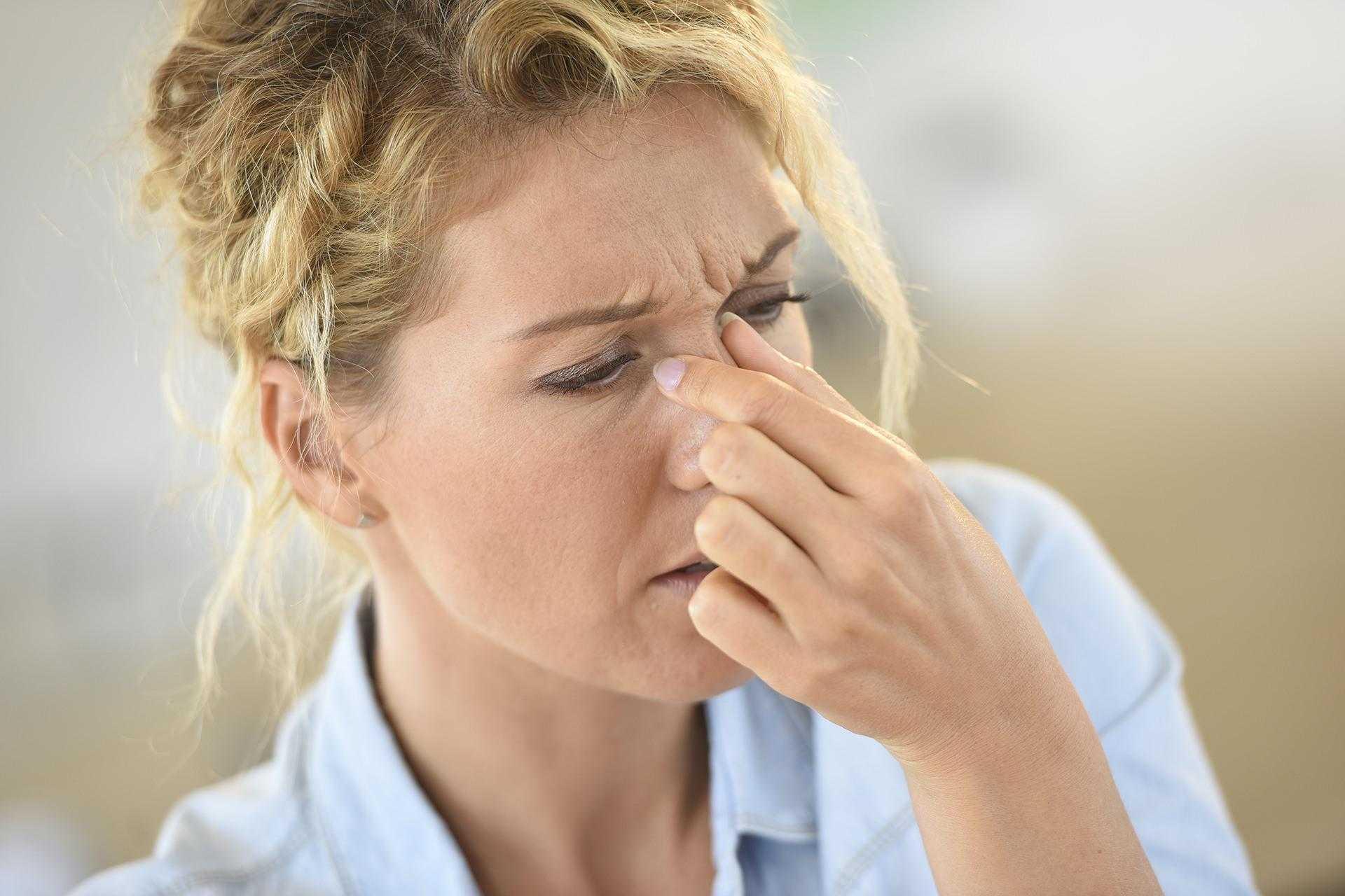 Причины инфекций носовых пазух - синусит
