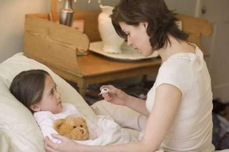 Лихорадка у детей - нет худа без добра