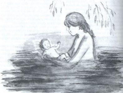 Купание ребёнка