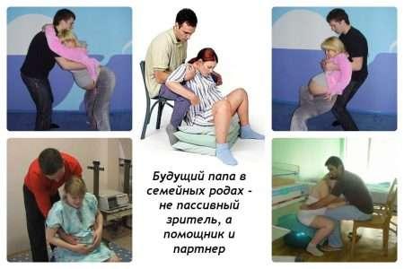 Роль отца в родах