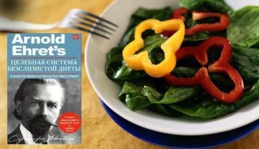 Вводные принципы бесслизистой диеты