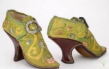 Мода на каблуки в Европе в 16-17 вв.