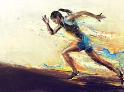 Бегущий человек способен развивать скорость до 60-65 км в час