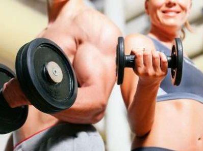 Во время тренировок мужчины потеют лучше женщин