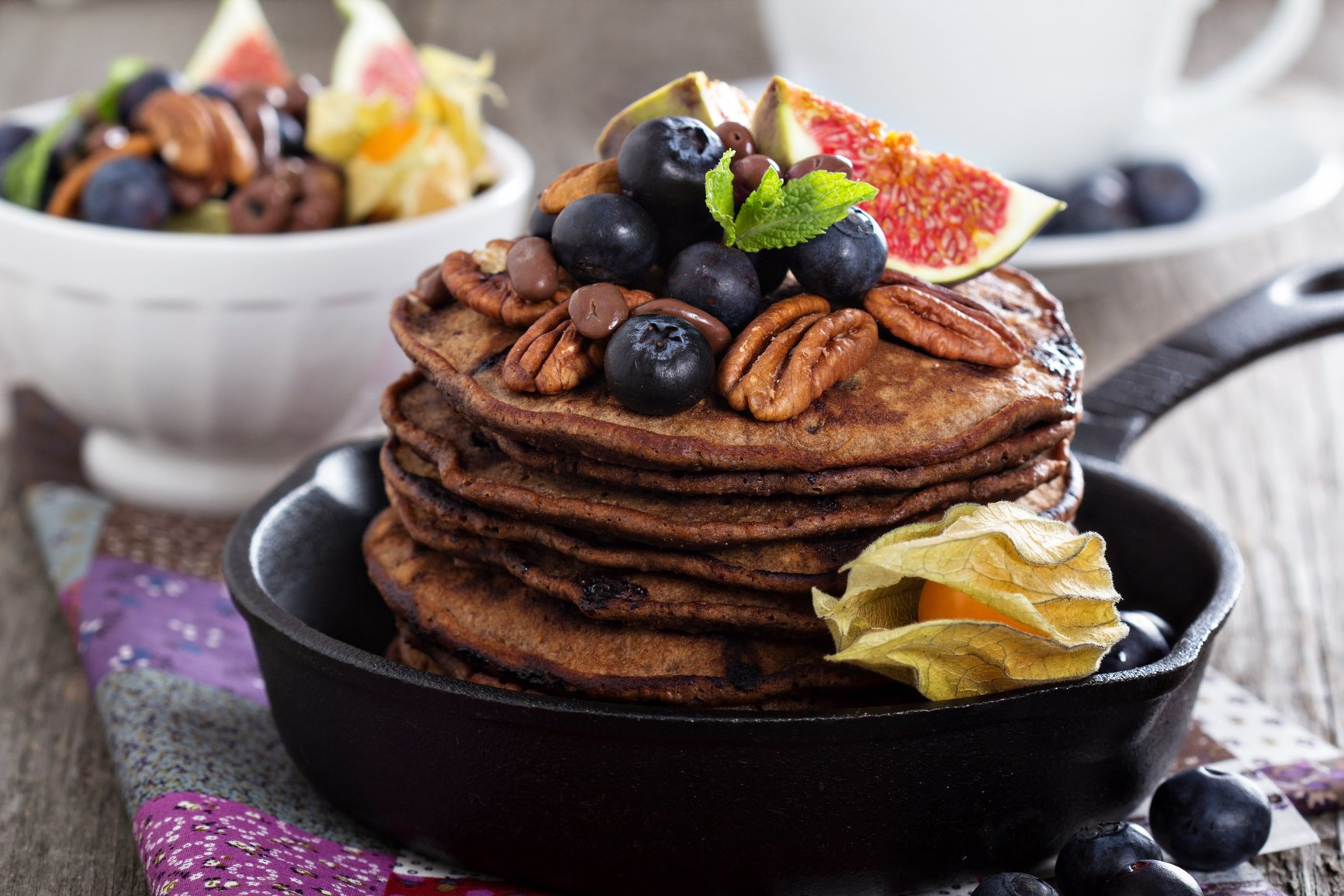 В чем секрет завтрака с шоколадом?