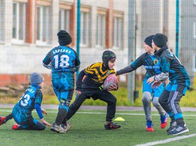 Необычные повреждения у юных игроков в регби