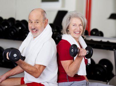 Пожилым людям полезны силовые тренировки
