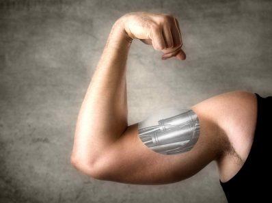 Японцы создали синтетическую мышцу для экзоскелета