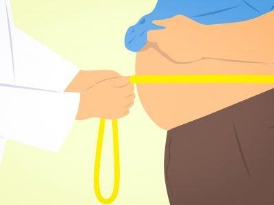 Абдоминальное ожирение, связанное с тревогой и депрессией