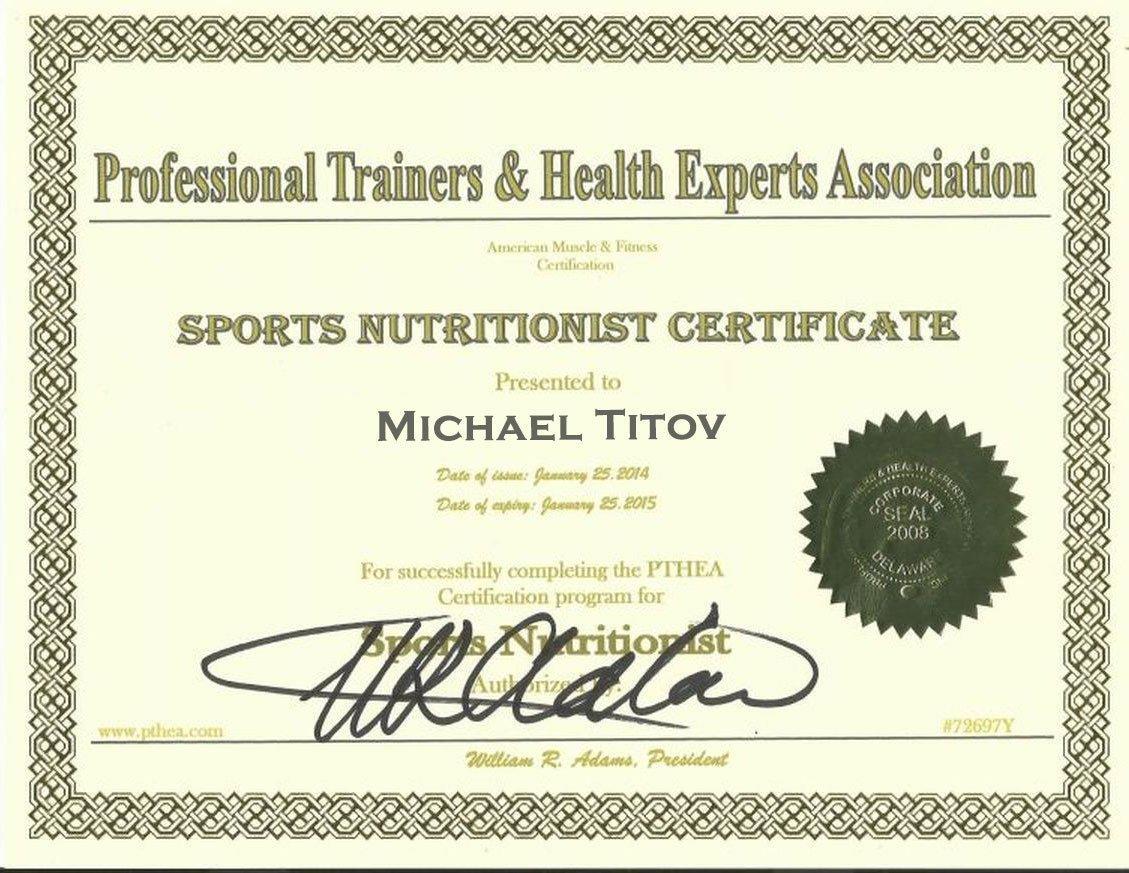 sport nutritions