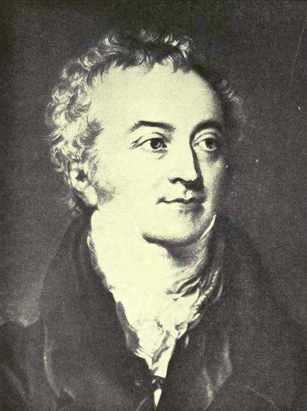 Рисунок 11. Томас Юнг (1773-1829). Английский врач и учёный, первым представивший серьёзный аргумент в поддержку точки зрения о том, что аккомодация происходит в результате деятельности хрусталика.