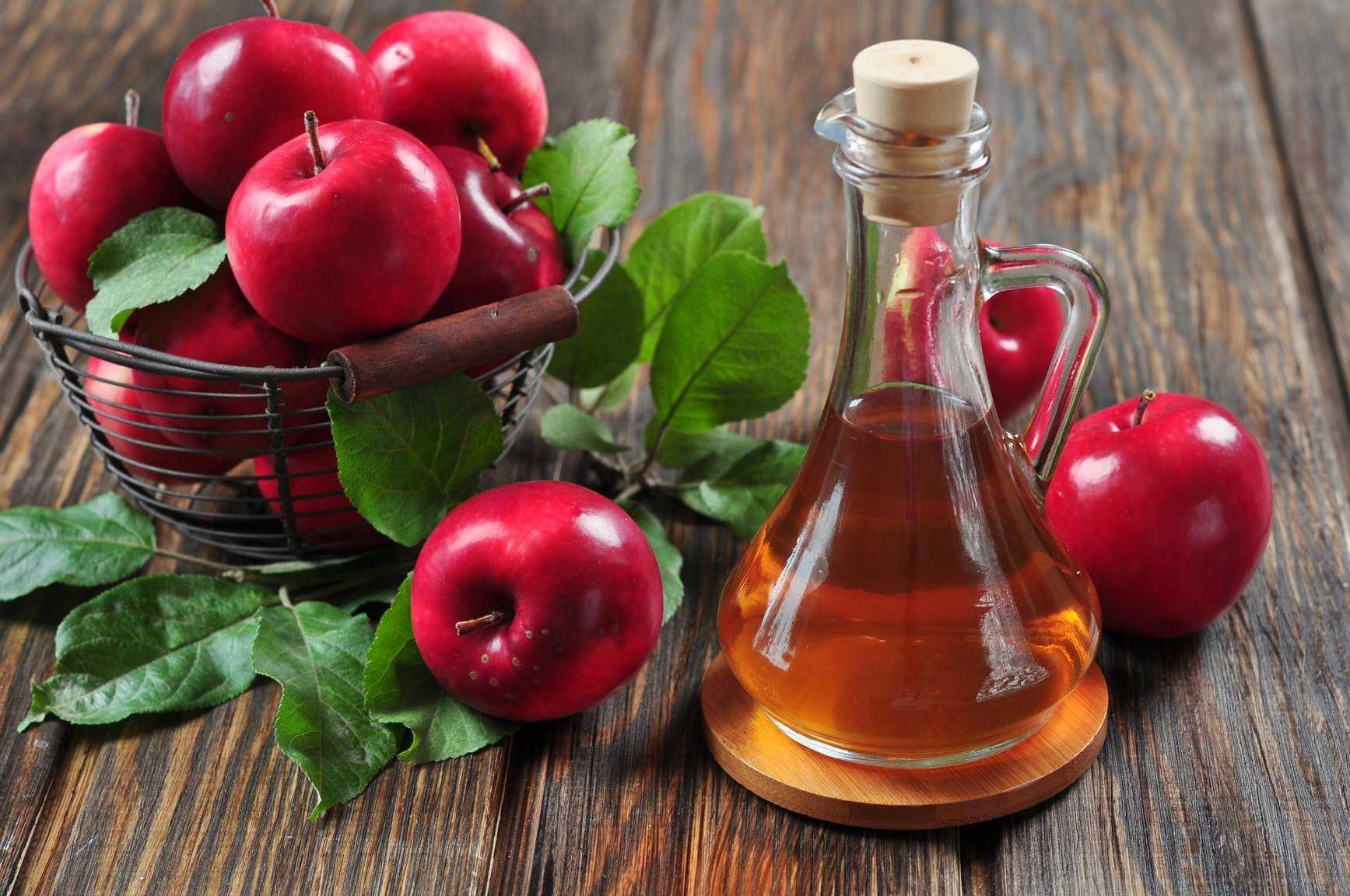 Яблочный уксус (с маткой)